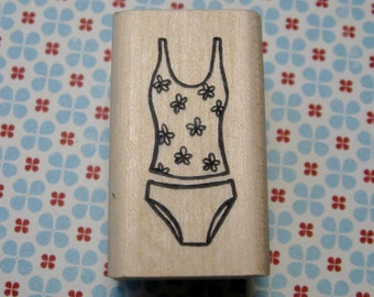 Tankini, Swimsuit - A Muse Rubber Stamp