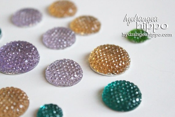 Bling Sparklers Circles - 15 pieces