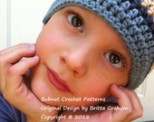 Crochet Hat Pattern - Girls and Boys Quick and Easy Crochet Hat NINE Sizes Newborn to Kid PATTERN No.110 suits BEGINNERS