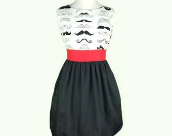 Mustache Dress / Moustache Dress