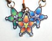 Kingdom Hearts Wayfinder Star Aqua, Terra, Ventus phone charm strap featured image
