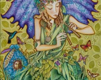 Fairy Song - A Fine Art Greeting Card