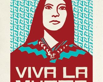 Viva La Mujer Screenprint
