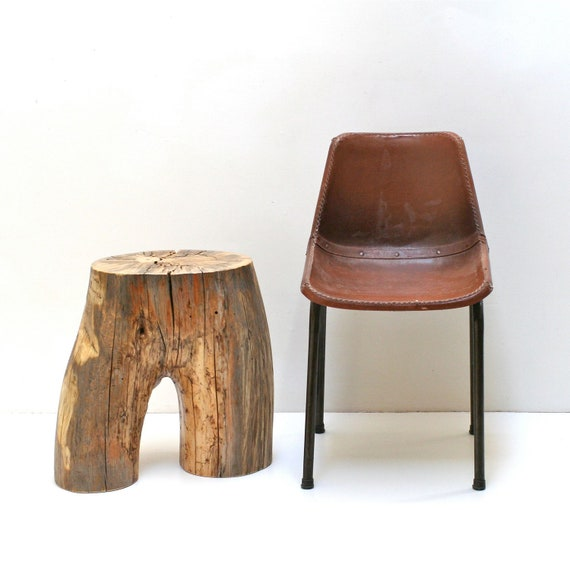 Two Tier Stump Table - Hipster