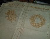 Vintage The Creative Circle 2128 Christmas Treasure Bags Kit 1980 Crewel Embroidery