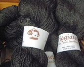 Alpaca Yarn, black, no dye
