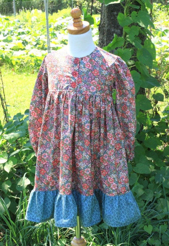 September Posey Dress and Purse Size 3/4 - Ready to Ship SPECIAL SALE