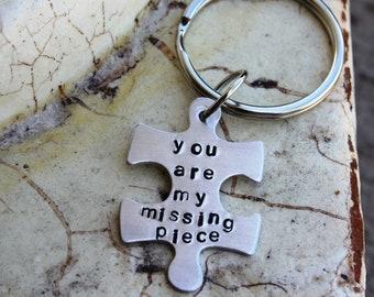 Key chain -- Puzzle piece