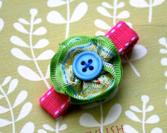 2 flower clips