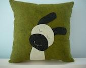 Sheep Pillow - Dancing - Pillow Cover - Fall Decor - Decorative Pillow
