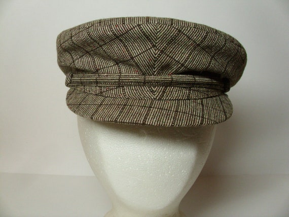 Vintage Men's Wool Cap  Unworn w/Original Tag  Russian