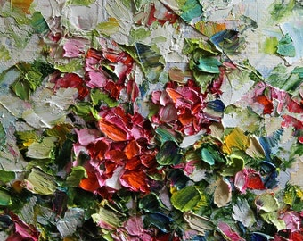 Giclee  Art Print Palette Knife Impressionism Modern