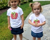 Apple Shirt ... Personalized...Long or Short Sleeve
