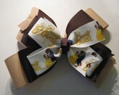 Beauty and the Beast Inspired Triple Layer Bow