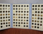 Wholesale Vintage Buttons - Vintage Professional Set of Buttons - 144 Medium Buttons