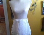 Vintage Open Bottom Girdle- Garter Skirt- Rago