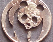 Panda Hand Cut Coin Jewelry
