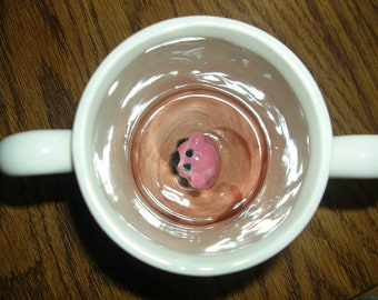 There's a Piggy In My CUP-Toddler surprise mug:  Only 2 left