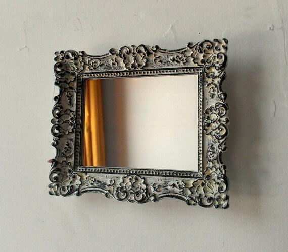 Ornate Wall Mirror in Vintage Regency Frame