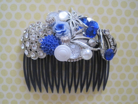 Special Occasion Collage Hair Comb