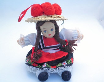 Vintage Traditional Costume Doll - Black Forest - Germany - Europe
