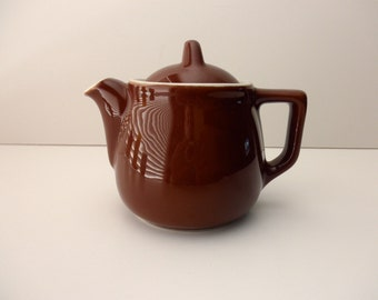 Coors 2 Cup Brown Teapot - number 52, made in California