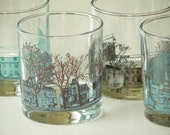 Halifax Streetscapes Tumblers - set of 4