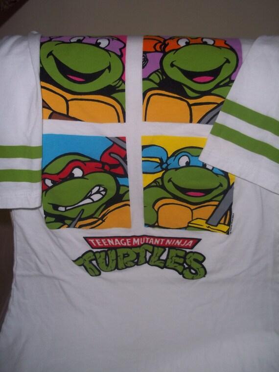 Vintage teenage mutant ninja turtles tee by planetfriendlygoods