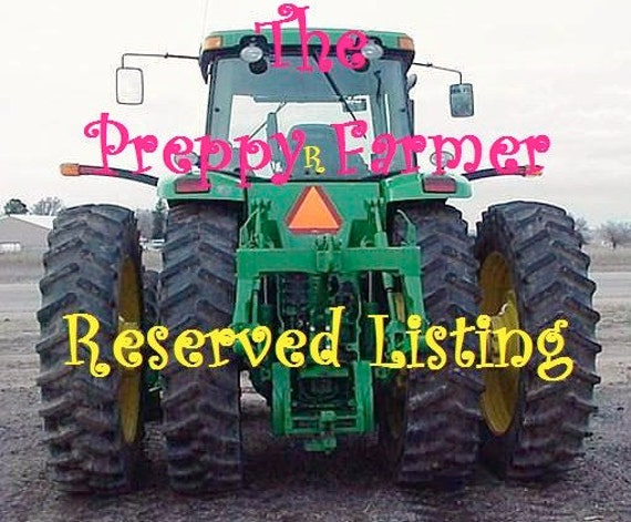Reserved Listing for Alyson Forester
