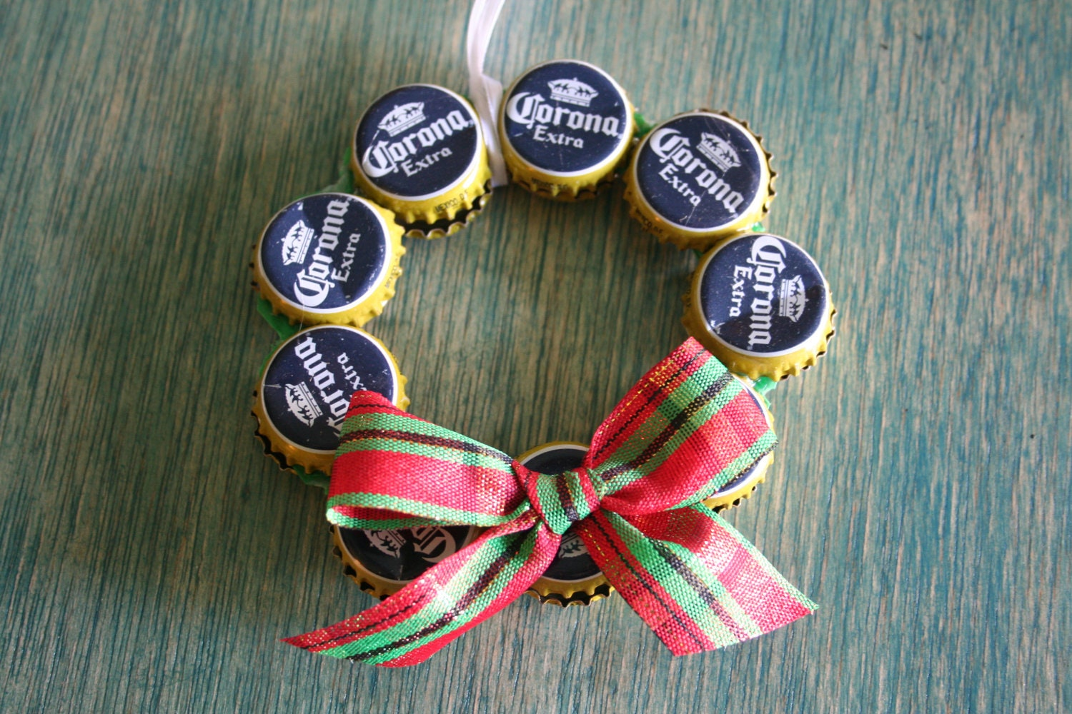 Corona Beer Bottle Cap Christmas Ornament