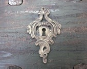 Vintage French Escutcheon/Key Cover