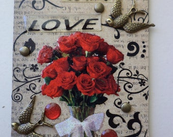 Je t aime A Collectable Conceptual AcEo  Valentines Gift