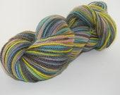 CLEARANCE Solar Dyed Sock Yarn BFL Rainbow Apocalypse