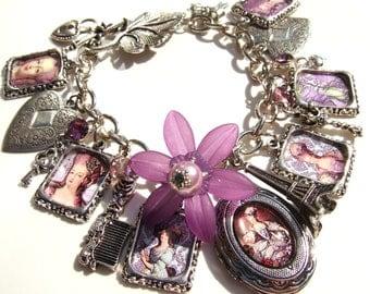 Marie Antoinette Bracelet Marie Antoinette Jewellery Marie Jewellery Altered Art Bracelet Statement Jewellery Historical Bracelet