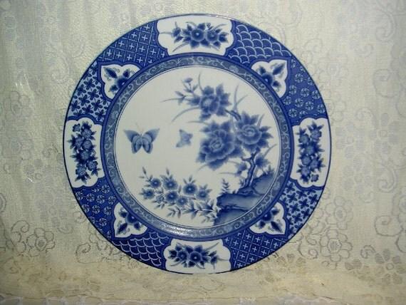 Vintage Imari Blossom Dinner Plate