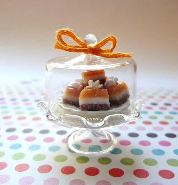 Miniature Pumpkin Bars