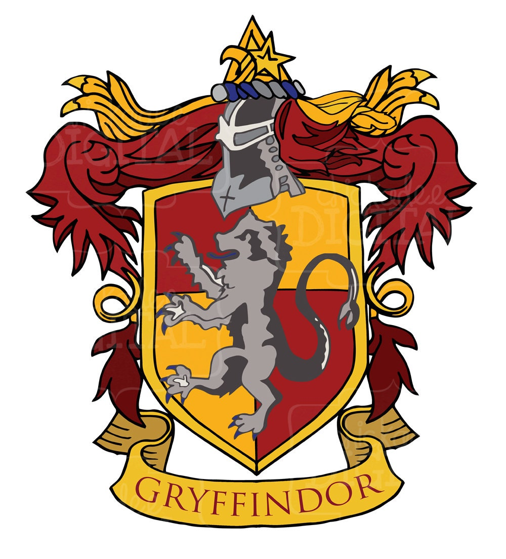 Image result for gryffindor crest