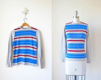 1970s Striped Sweater/ Deadstock/ A Speilberg Revival