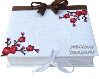 Keepsake Box with Cherry Blossom