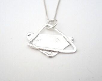 Star Of David - Magen David - Sterling Silver Pendant Handmade From Israel