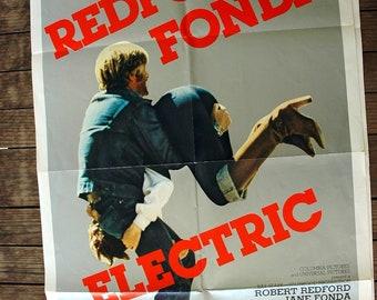 Electric Horseman - Original VINTAGE Movie Posterq