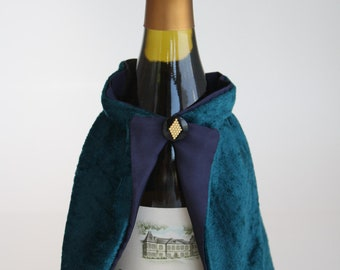 Whimsical Witch  Bottle Jacket and Hat