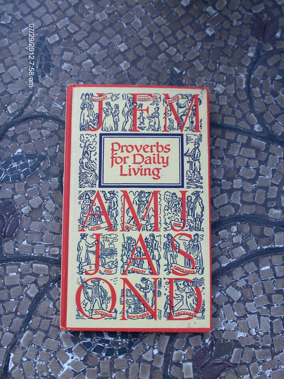 Proverbs for Daily Living by The Peter Pauper Press