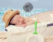Newborn Going Fishin Hat pdf pattern