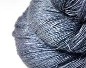 Gnatcatcher flying too high - Tussah Silk Lace Yarn