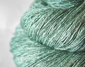 Freezing mountain air - Tussah Silk Lace Yarn