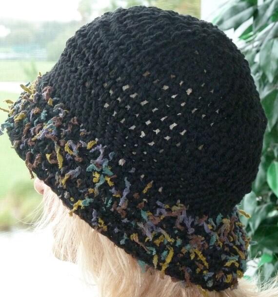 Bohemian Black Hat Unique Women Clothing Winter Original Accessories