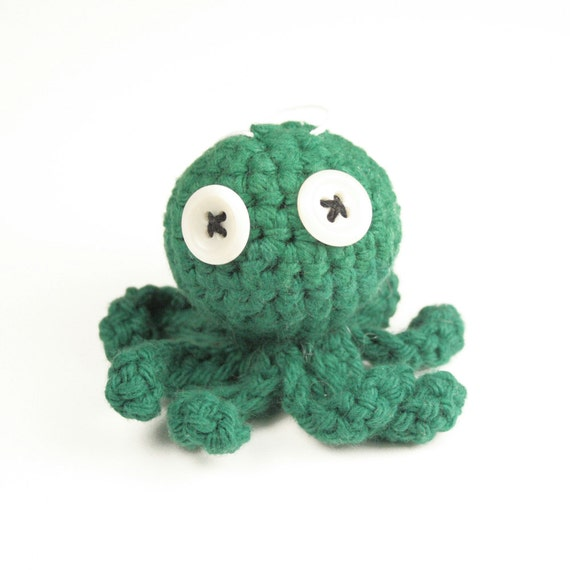Christmas Octopus-Green