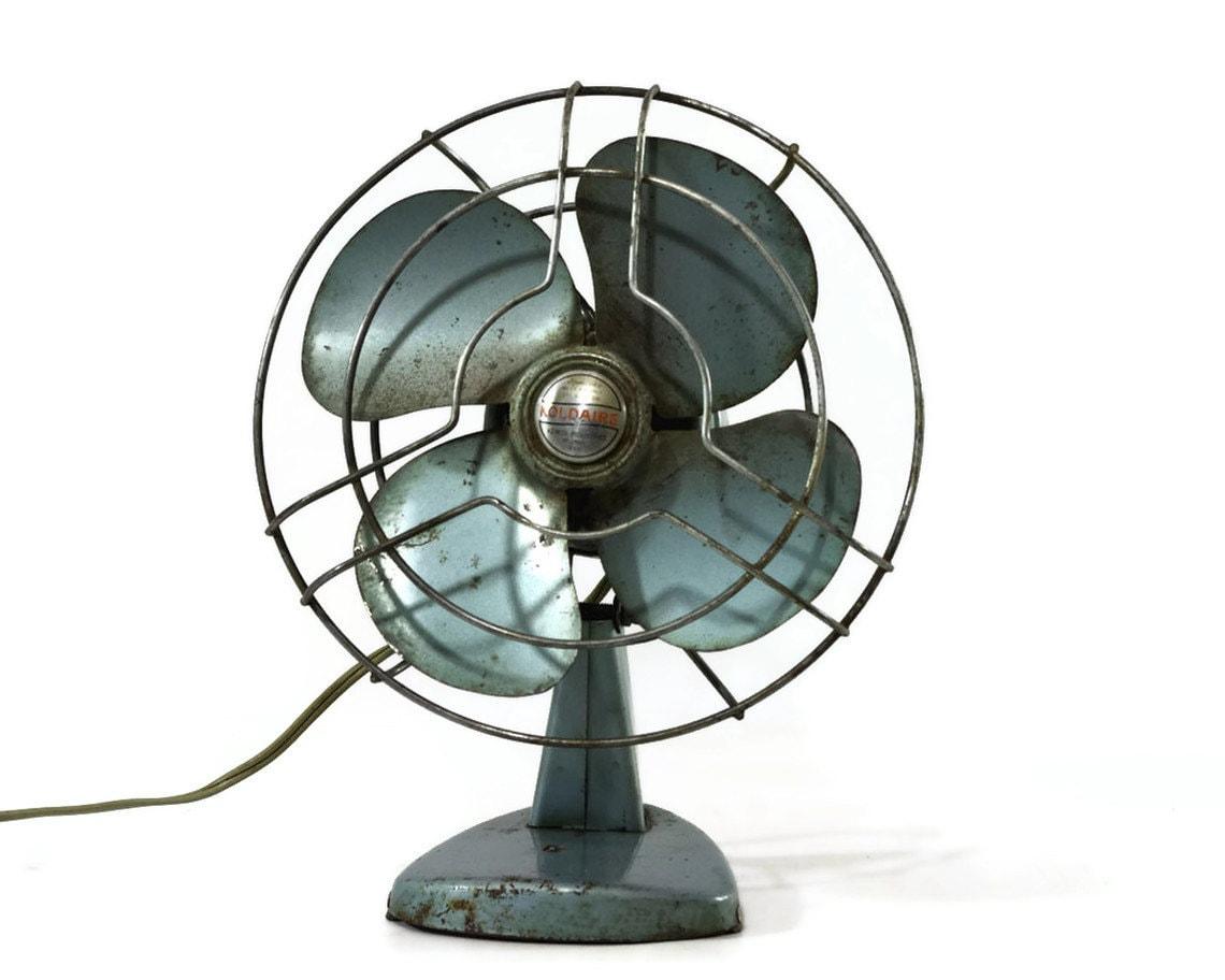 Retro Electric Fans : Vintage electric fan desk koldaire