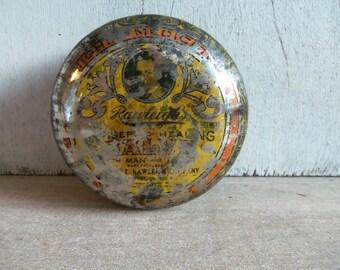 Vintage Pharmaceutical Tin